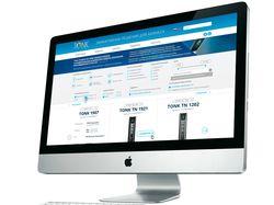 Сайт для ГК «Тонк» (тонкие клиенты)