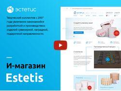 Корпоративный сайт компании Estetis