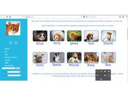 Сайт для приюта бездомных животных
