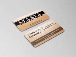 Дизайн визитки для тамады