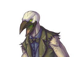 Страшный птиц