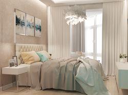 Спальня в современном стиле для молодой девушки