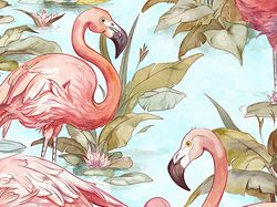 Flamingo_pattern