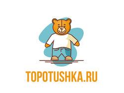 "Лого ""Topotushka.ru"""