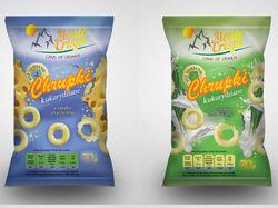 Упаковка кукурузные колечки (линейка)