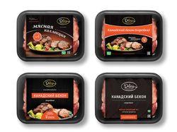 Дизайн упаковки для продукции мясного завода