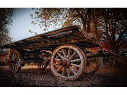 Люстра из старого колеса_описание под видео