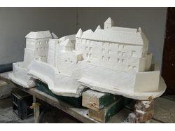 Гипсовый макет Мукачевского замка длина 2 метра