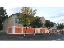 Комплексное рекламное оформление фасада магазина.