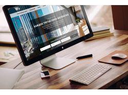 Разработка сайта в формате Landing Page компании W