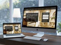 Разработка сайта в формате Landing Page для фирмы