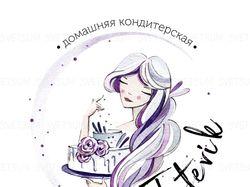 Логотип, Макет визитки