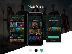 "Дизайн моб. приложения ""Yackle"""