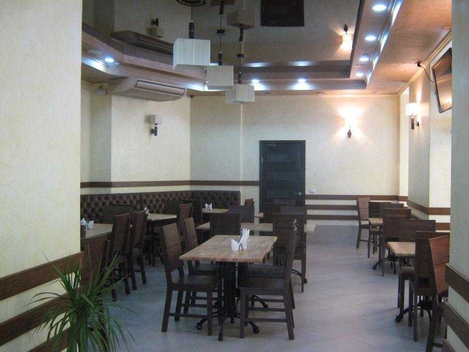 Дизайн интерьера кафе.