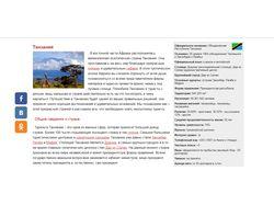 Контент-менеджмент раздела о туризме