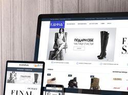 "Разработка интернет-магазина под ключ ""KANNA"""