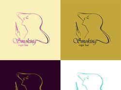 Логотип Smokng vape bar