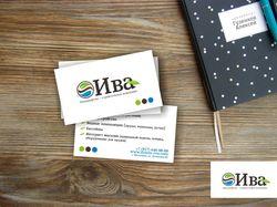Логотип и визитка Ива