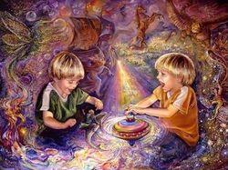 Мир детей - выдуманная реальность