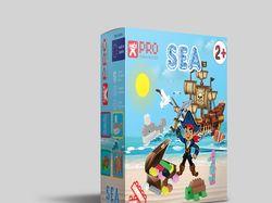 Дизайн упаковки  детских кубиков NOBI