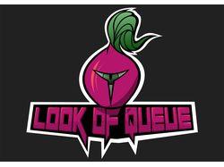 Дизайн логотипа социальной сети Look of Queue