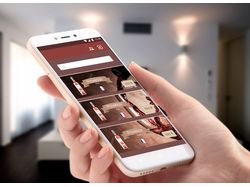 Мобильное приложение (винный бутик).