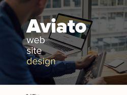 Aviato web site Design