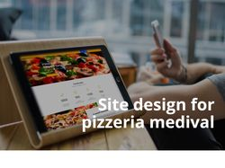 Pizzeria website design