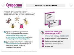 Супрастин, Супрастинекс. Презентация препаратов