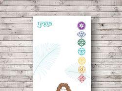 Дизайн коврика для йоги. Бренд YOUR YOGA