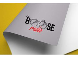"Логотип onlain radio  ""BOOSE RADIO"""