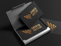 Логотип для компании Криптоинвестор