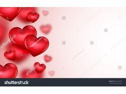 Дизайн фона на день Валентина сделанный в векторе