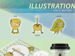 Полиграфия + Упаковка + Иллюстрации