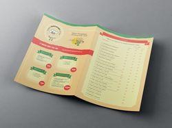 Дизайн листовки итальянского ресторана