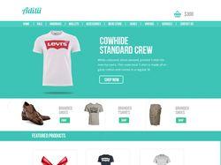 Адаптивный сайт по продаже одежды