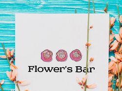 Лого магазина цветов
