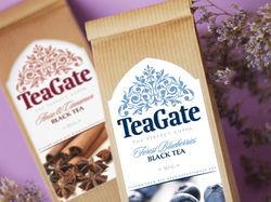 Дизайн этикетки для черного чая