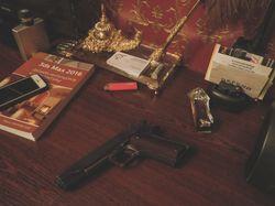 Модель пистолета Colt M1911A1 интегрированная