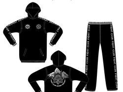 Спортивный костюм для бойцовского клуба «Ахмат»