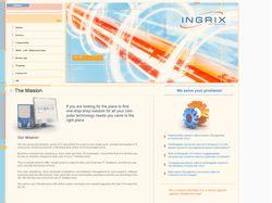 Ingrix.com - сайт IT компании