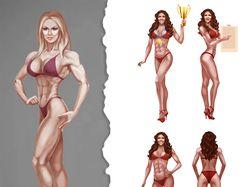 фитнес девушки для сайта