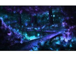 Fantasy Art Forest