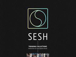 Веб сайт Sesh