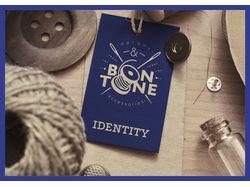 Разработка фирменного стиля для «Bon Tone»