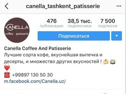 Canella Coffee & Patisserie (instagram)