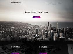 Корпоративный Landing Page