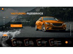 Дизайн сайт диагностика авто с админ панелью