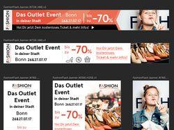 Баннер. Распродажа брендовой одежды