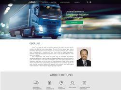 Сайт грузоперевозок для немецкой компании